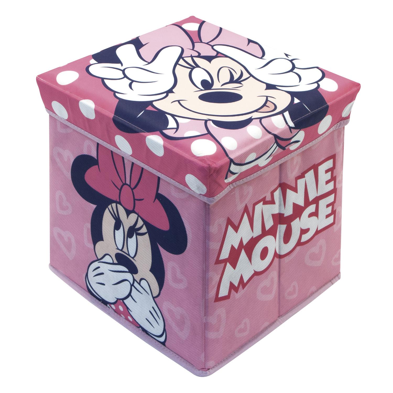 Úložný box na hračky Minnie s víkem