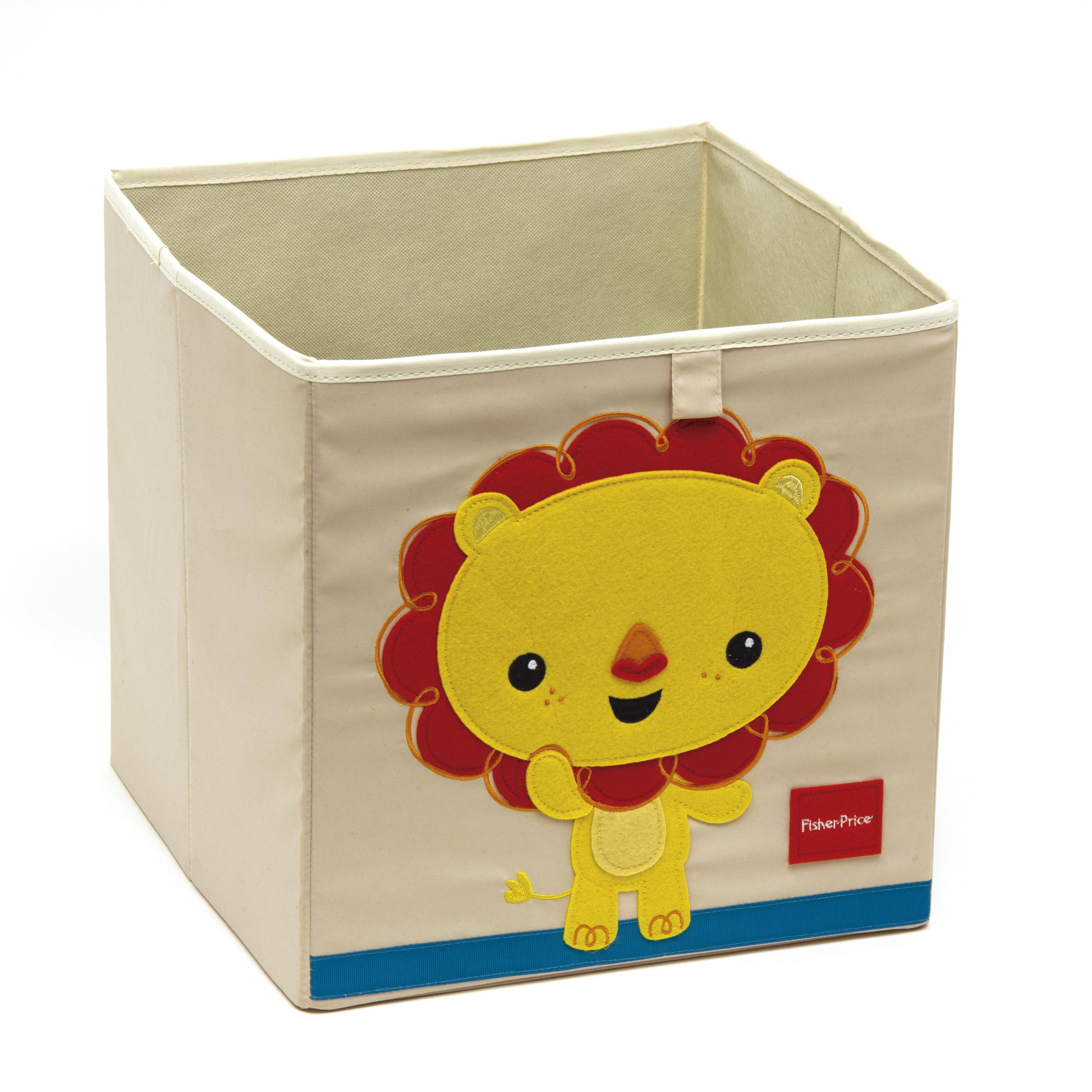 Úložný box na hračky Fisher Price - Lev
