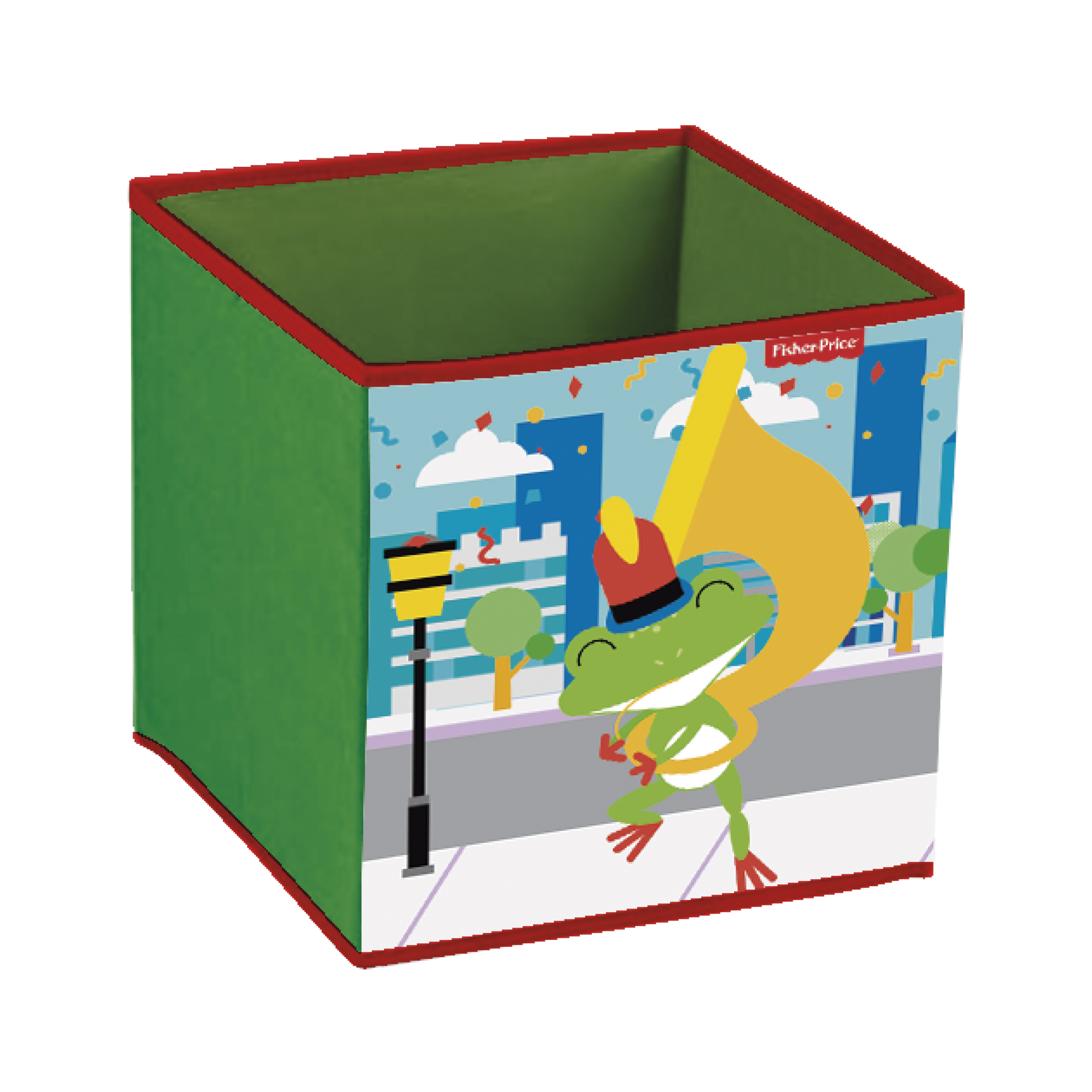 Úložný box na hračky Fisher Price - Žába