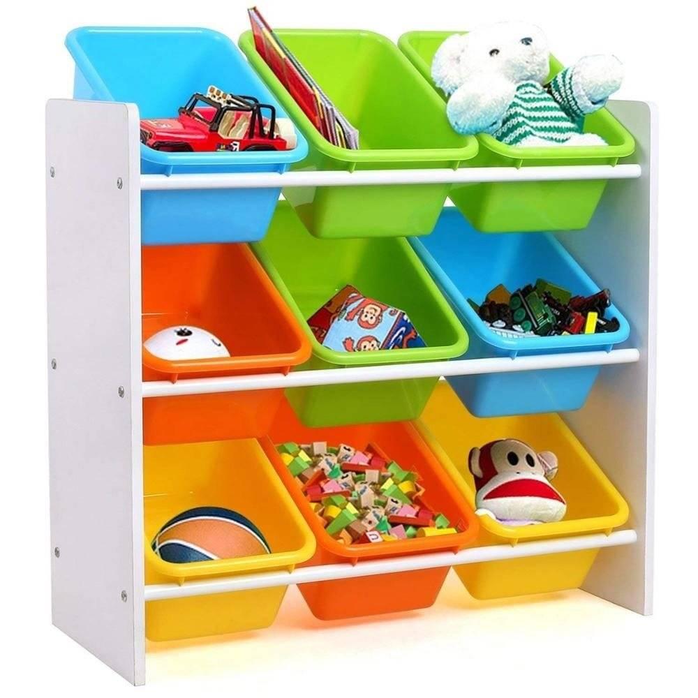 Organizér na hračky Multicolor