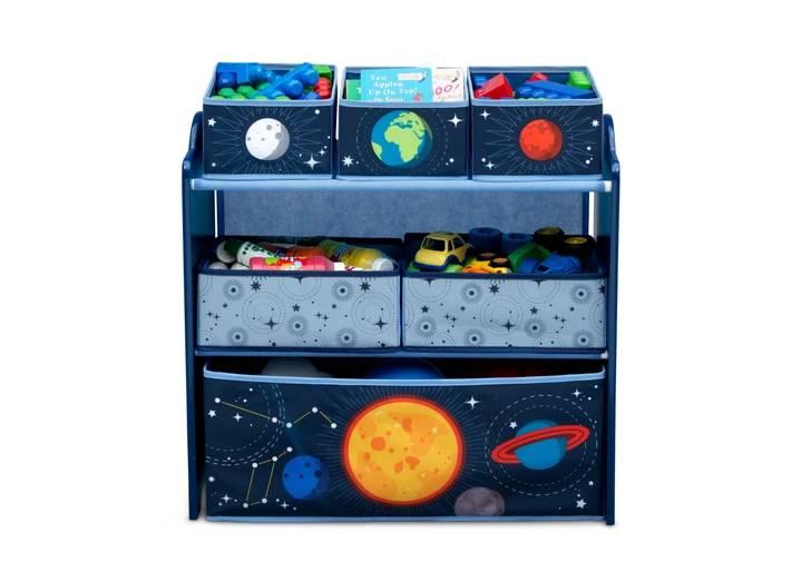 Organizér na hračky Vesmír