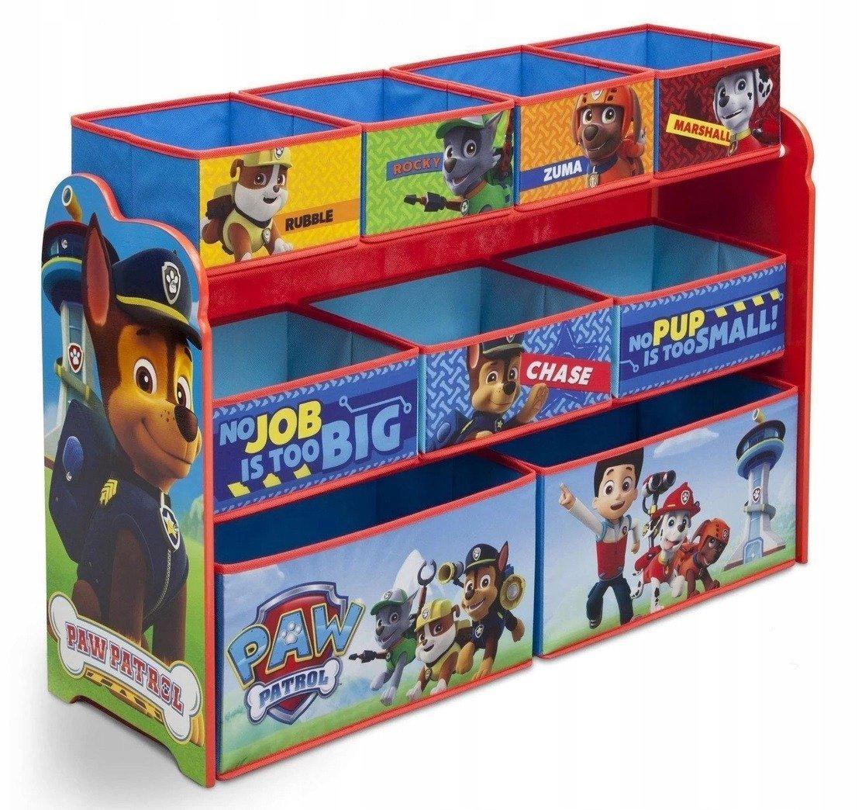 Organizér na hračky Paw Patrol - velký