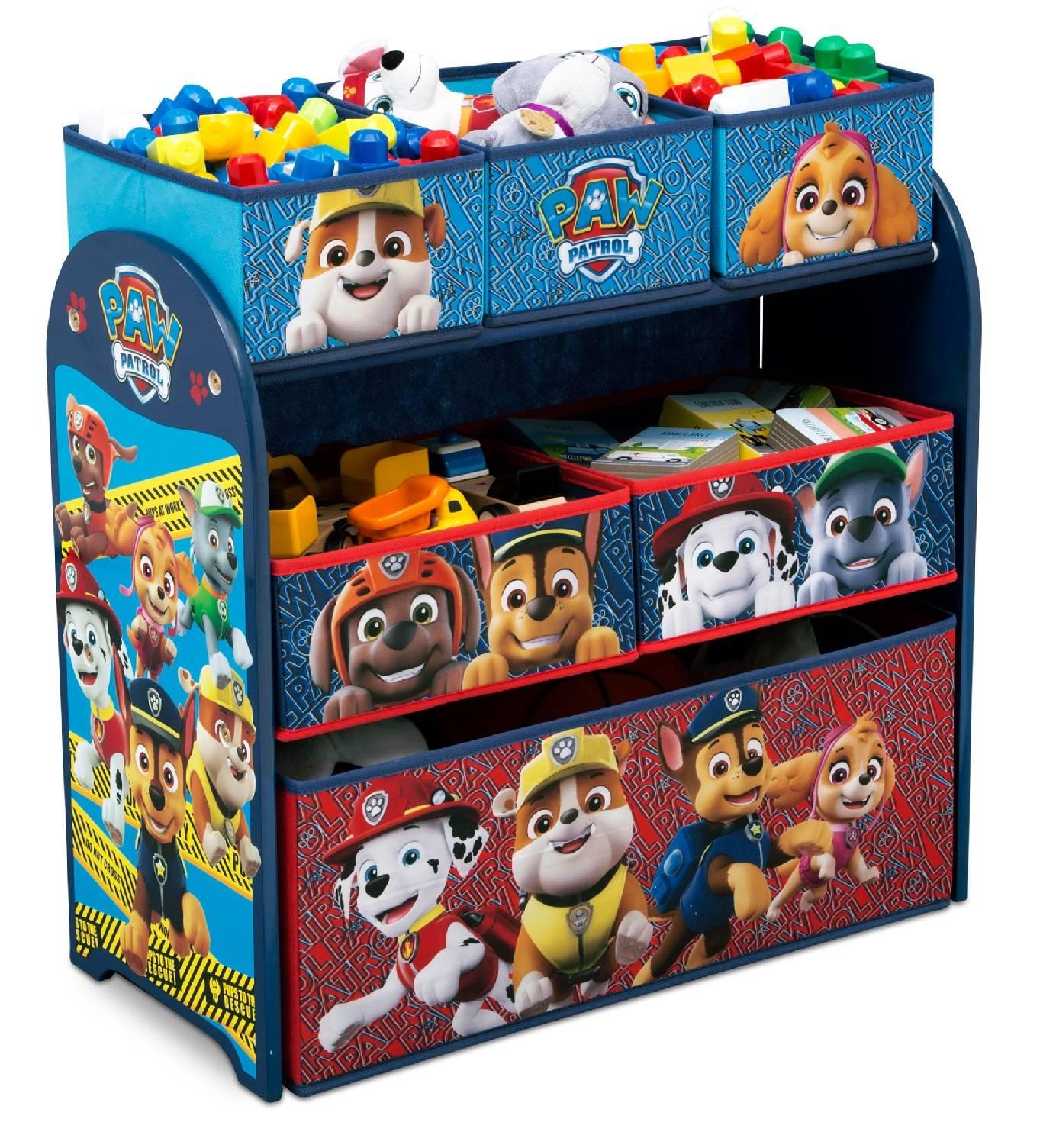 Organizér na hračky Tlapková Patrola záchranáři