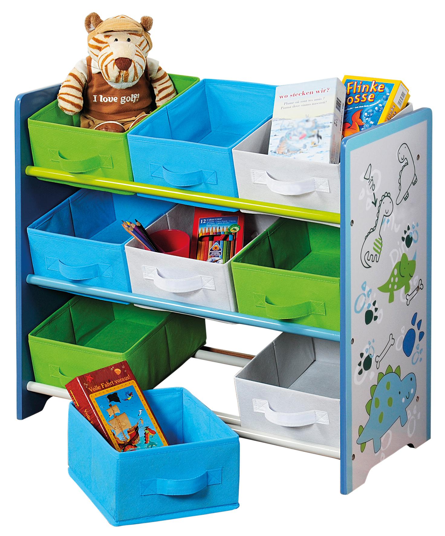 Organizer na hračky Dino