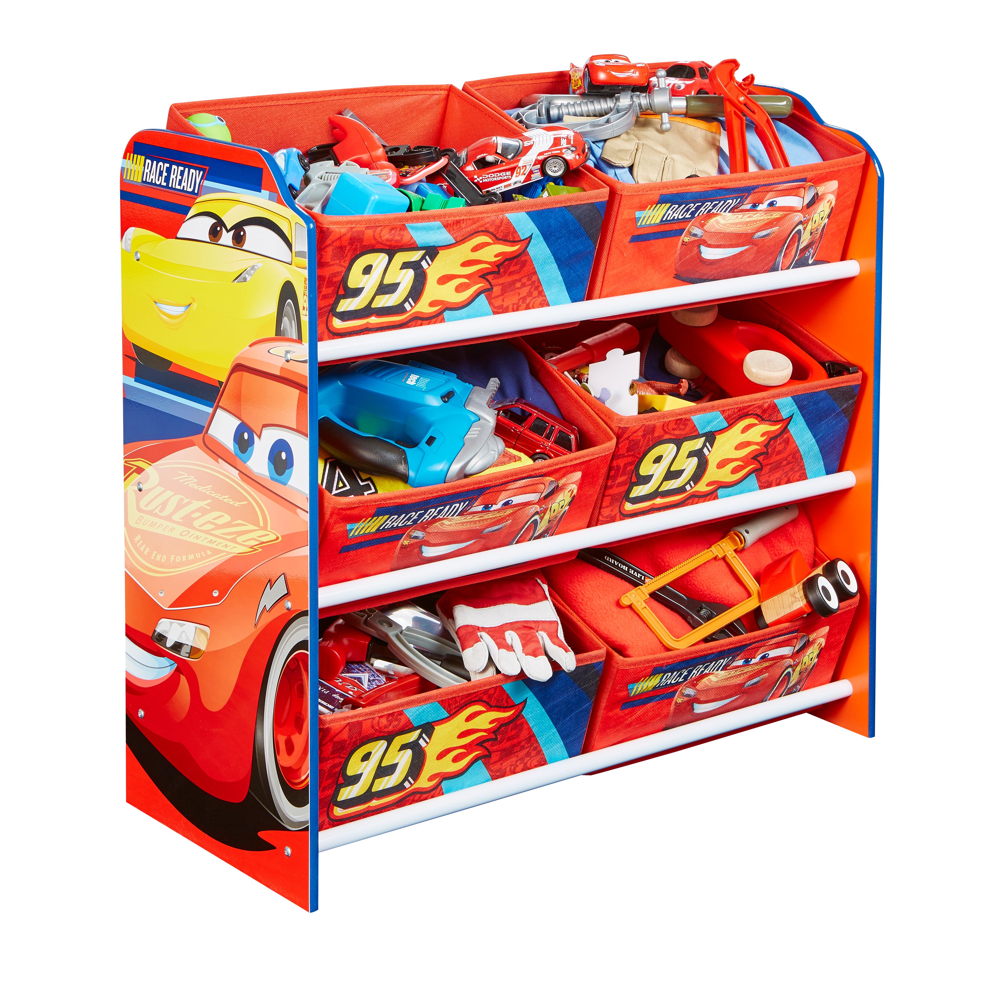 Organizér na hračky Cars