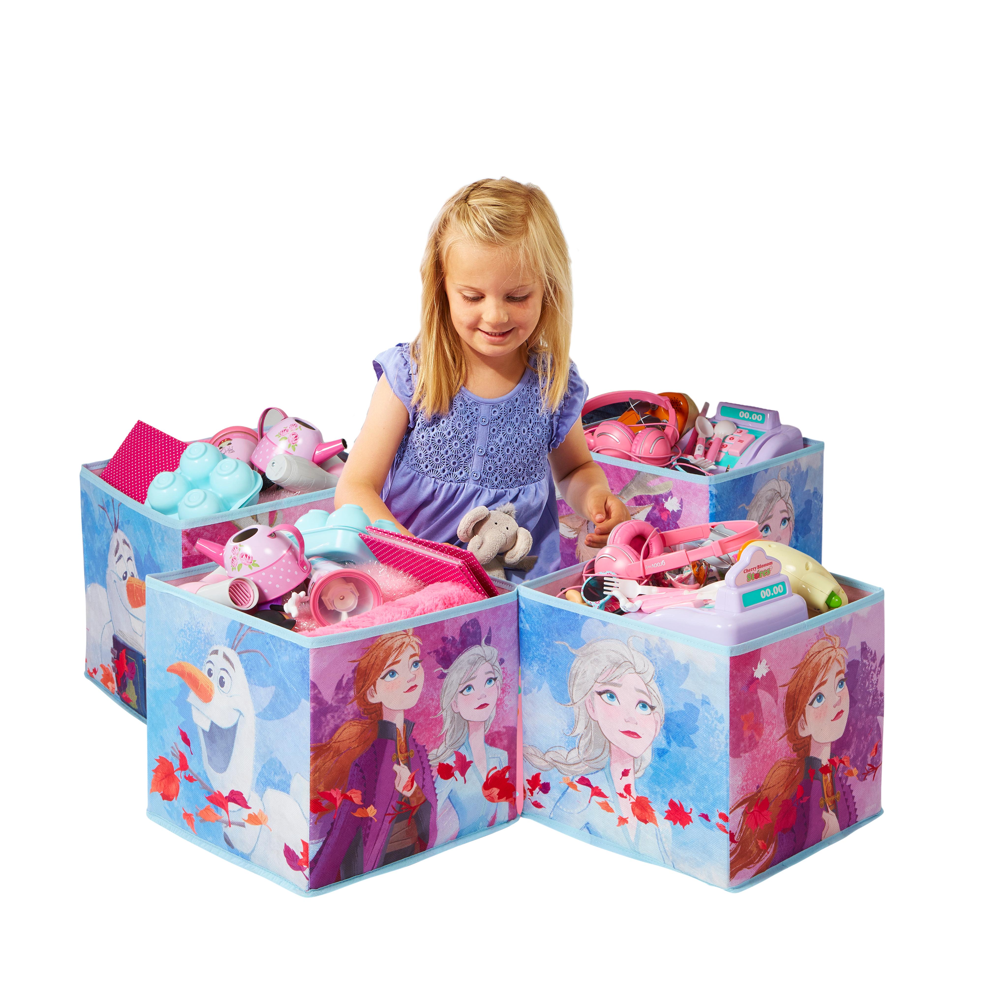 Dětské úložné boxy Frozen