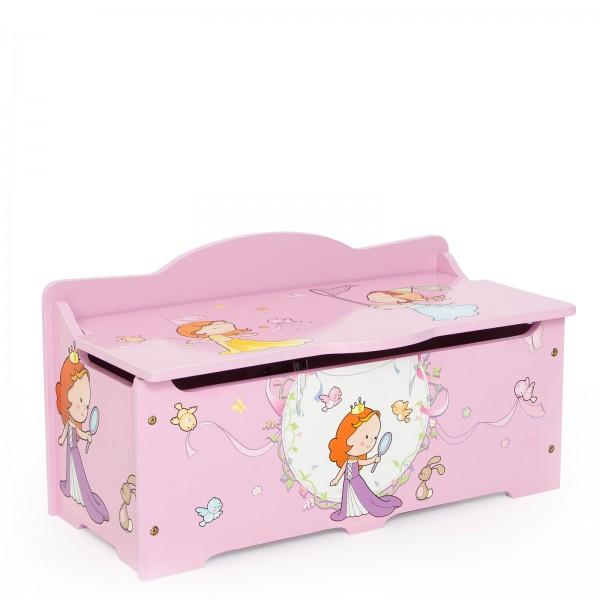Dětská truhla na hračky Princezny