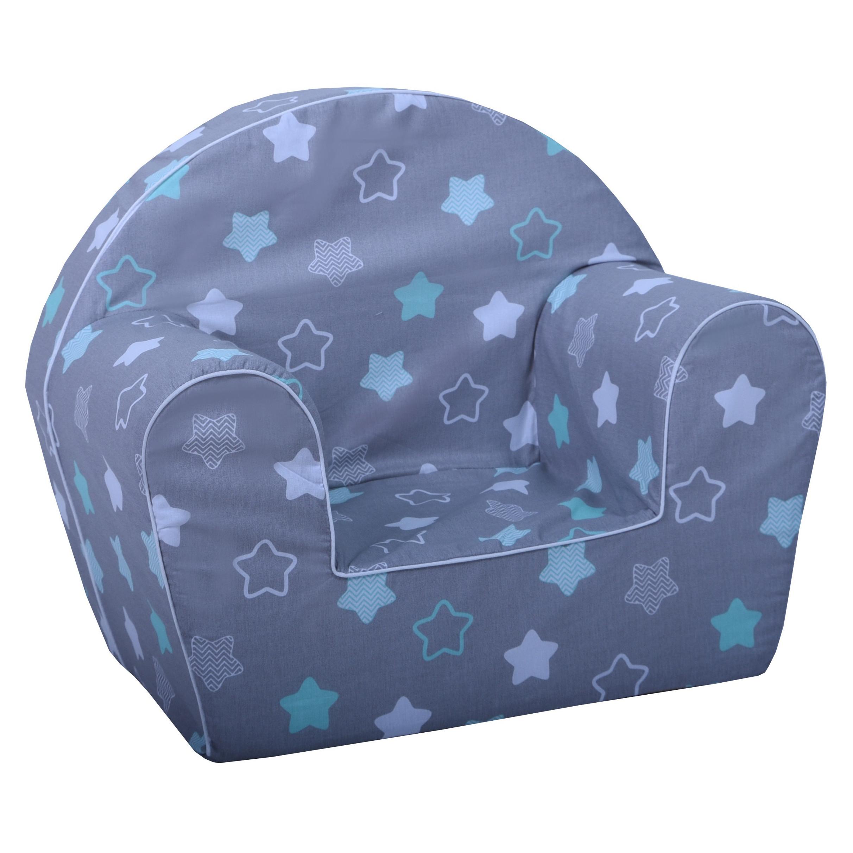 Dětské křesílko hvězdy - mátové