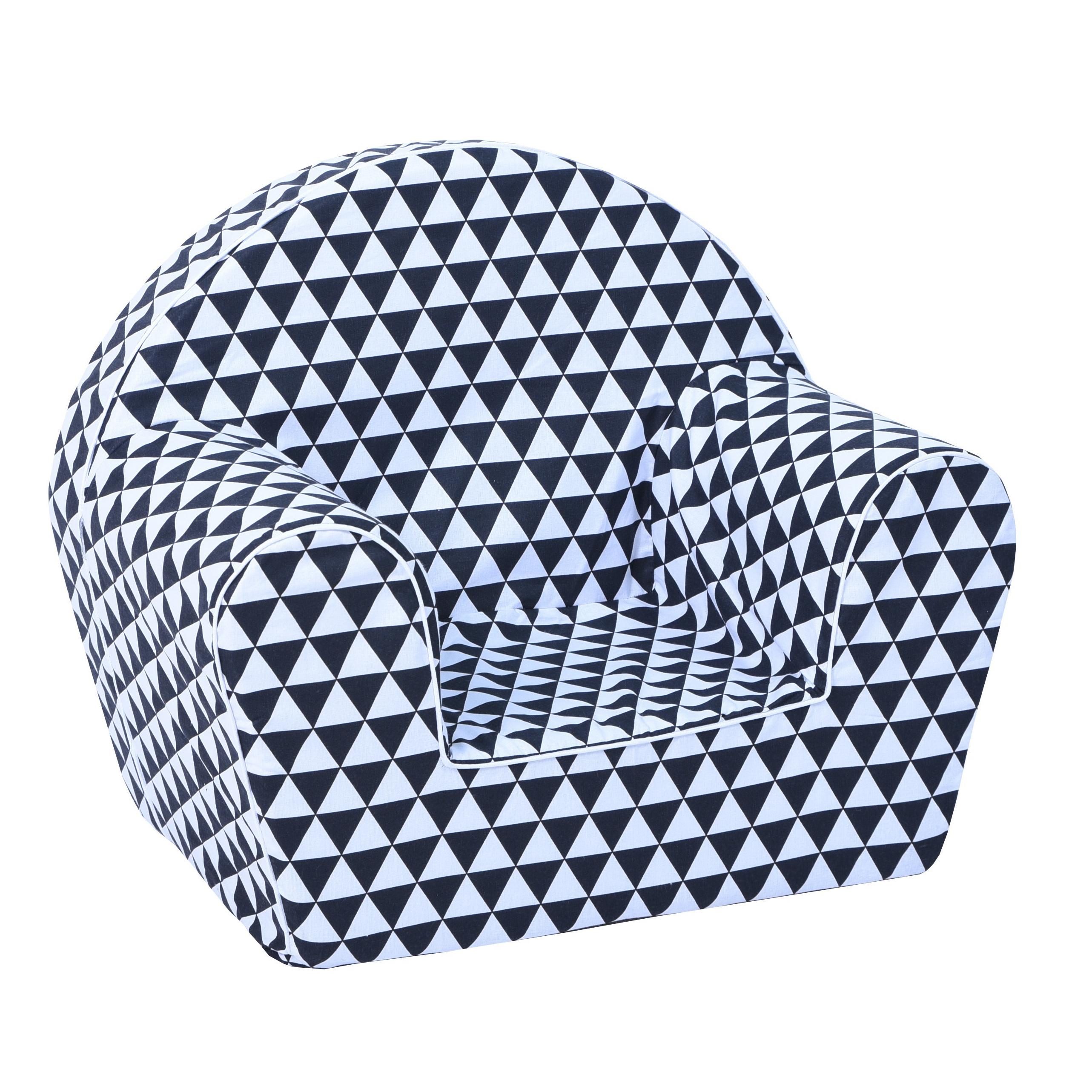 Dětské křesílko trojúhelníky