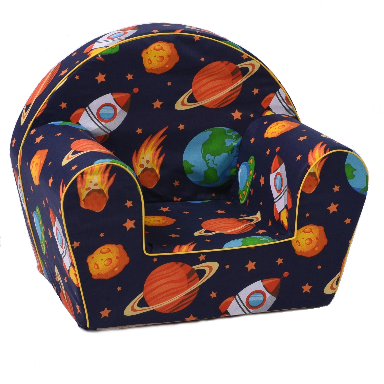 Dětské křesílko vesmír