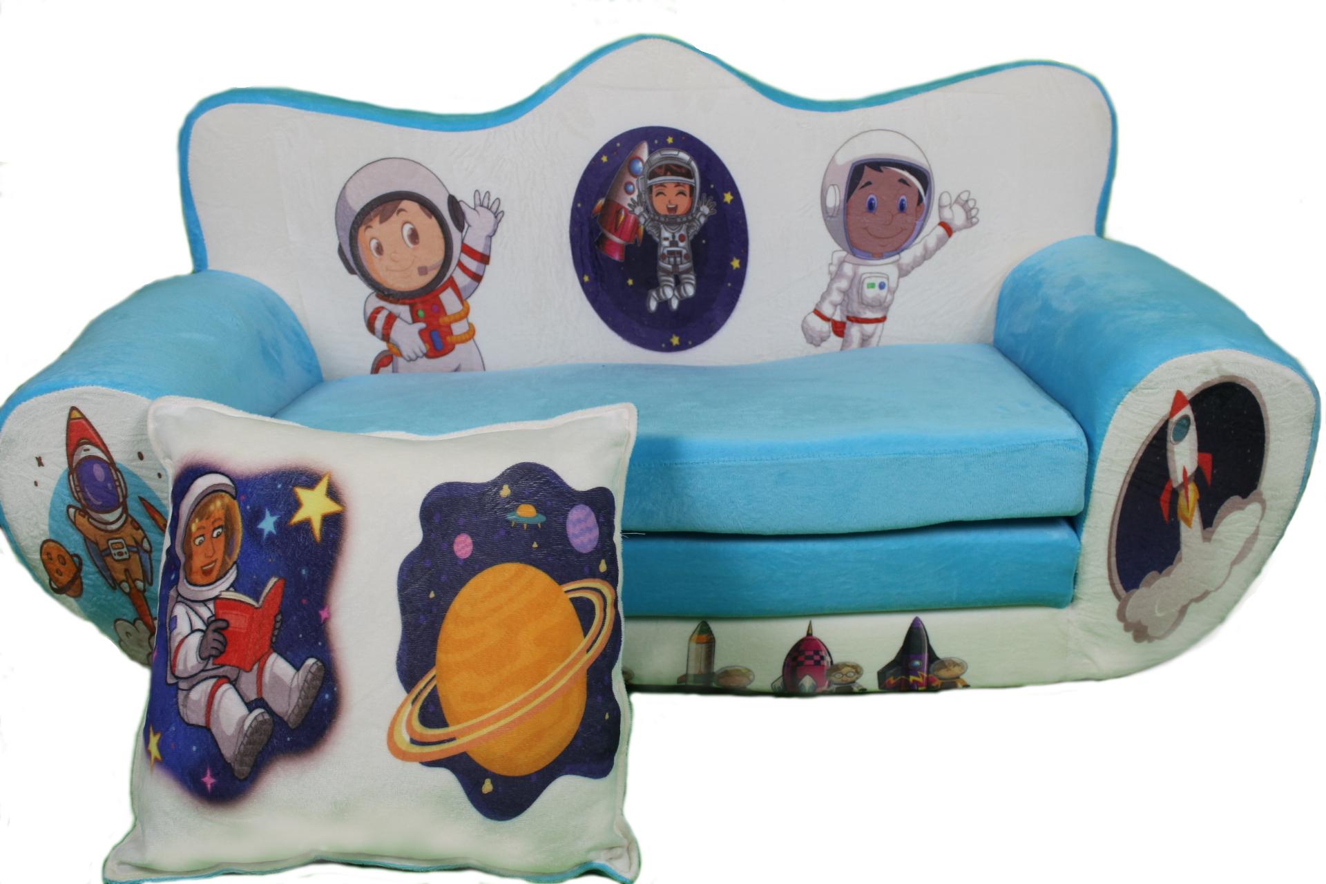 Dětská rozkládací pohovka Kosmonaut
