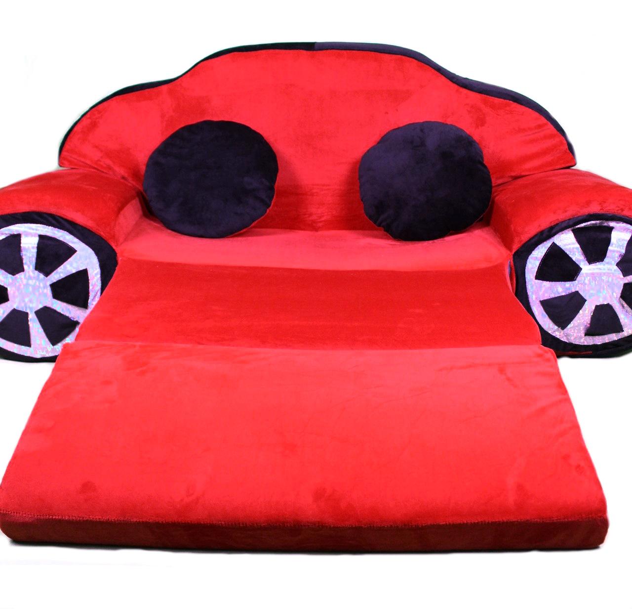 Maxi dětská rozkládací pohovka Auto