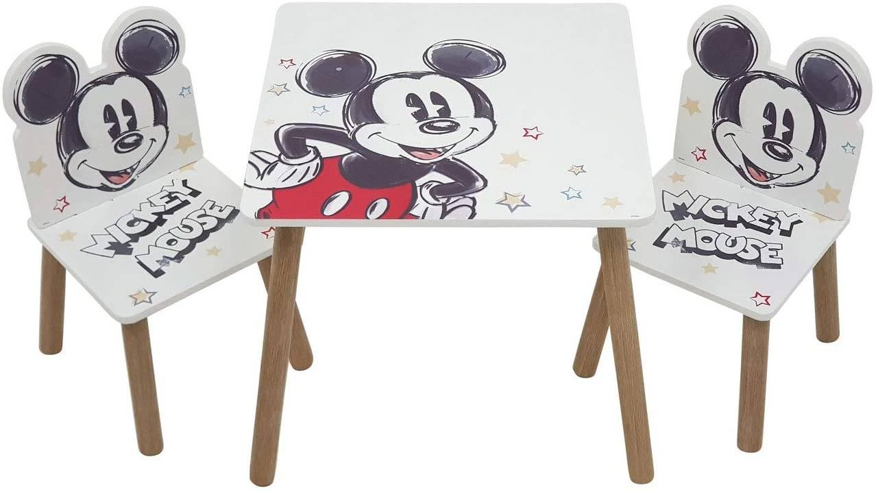 Dětský stůl s židlemi Mickey Mouse