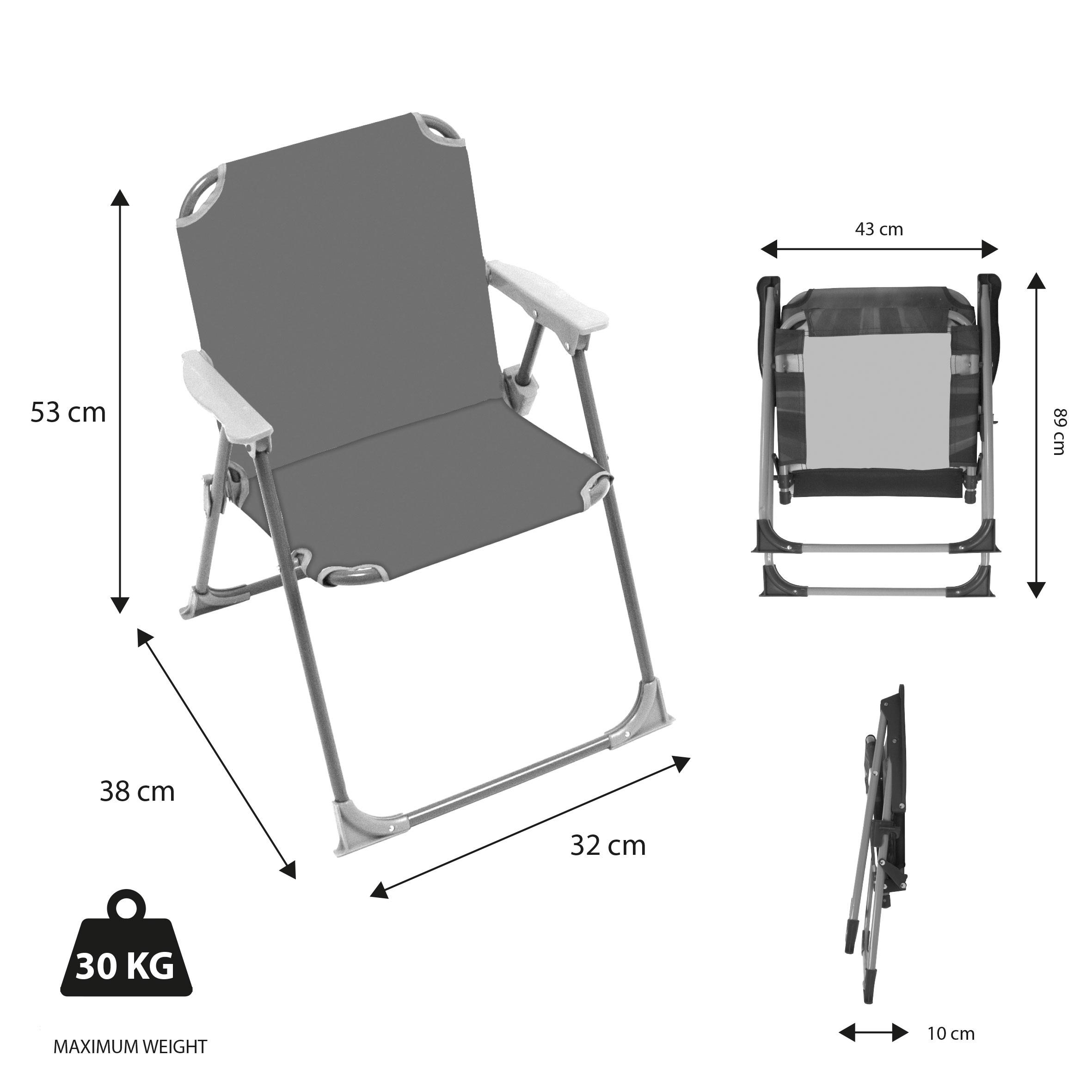 Dětská campingová židlička Mickey