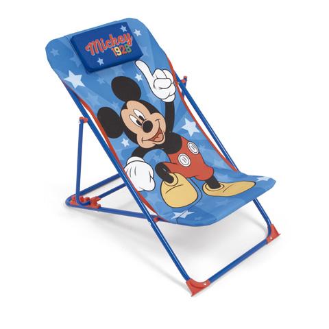 Dětské campingové lehátko Mickey