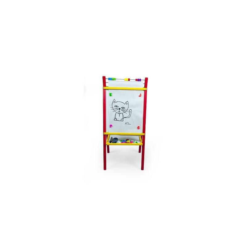 Dětská magnetická tabule červená