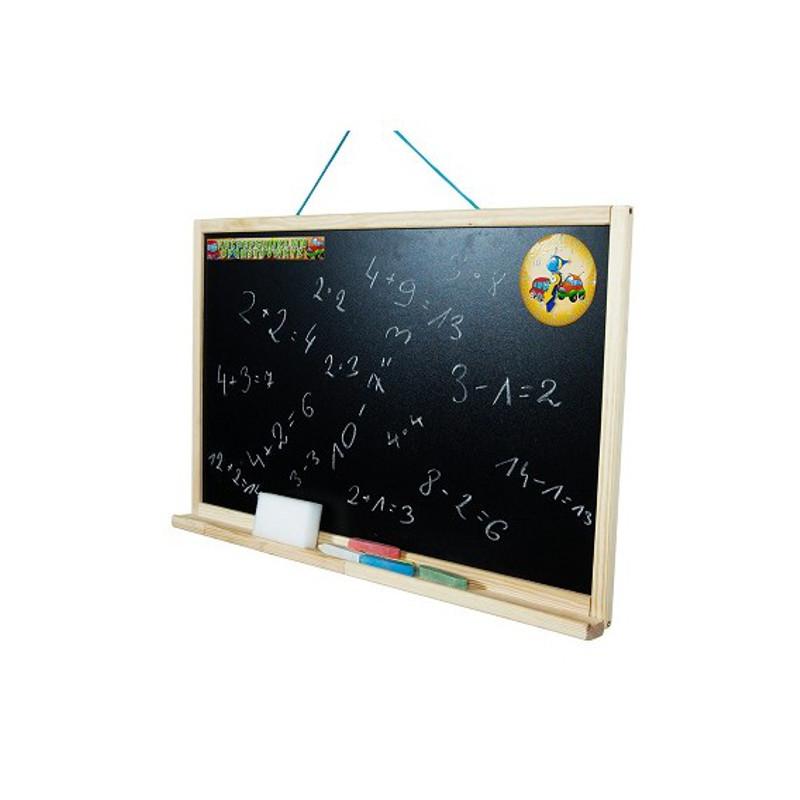 Dětská tabule na zeď přírodní