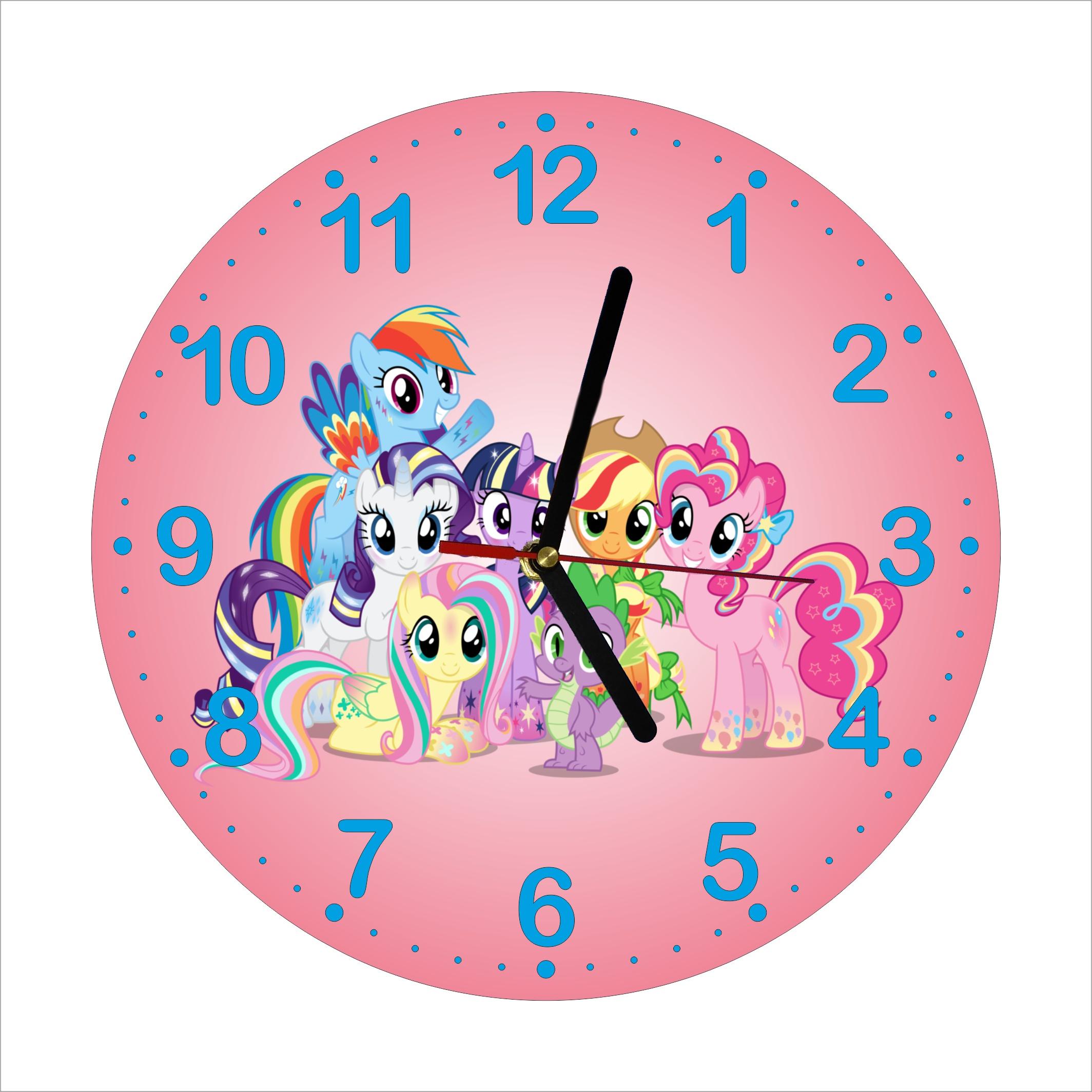 Dětské hodiny Poníci