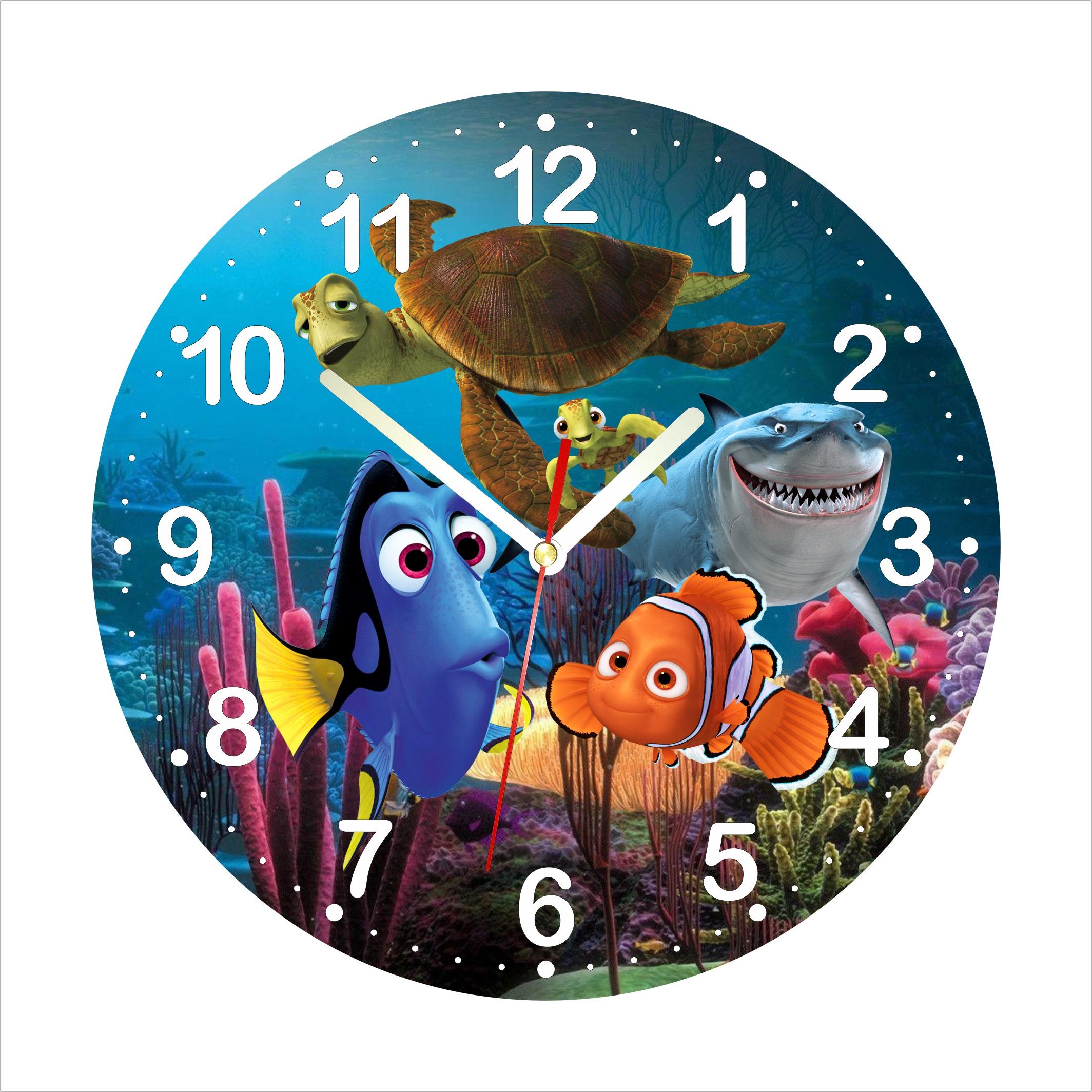 Dětské hodiny Nemo