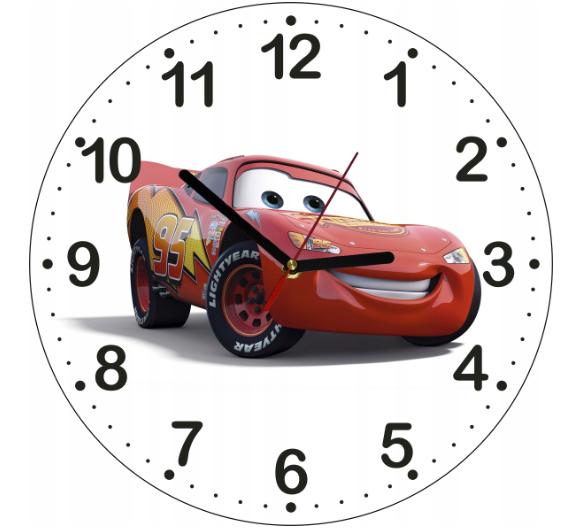 Dětské hodiny Auta