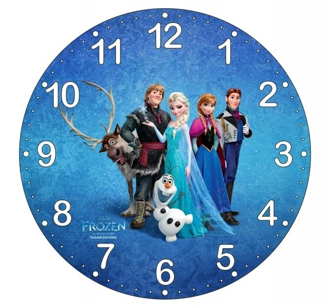 Dětské hodiny Ledové království