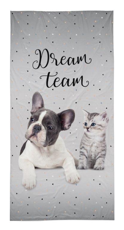 Dětská osuška Dream Team 140x70 cm