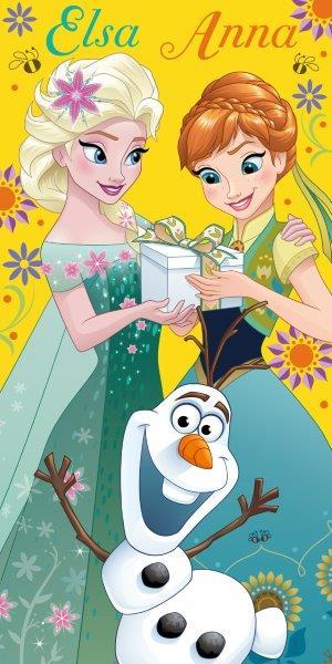 Dětská osuška Anna a Elsa 140x70 cm