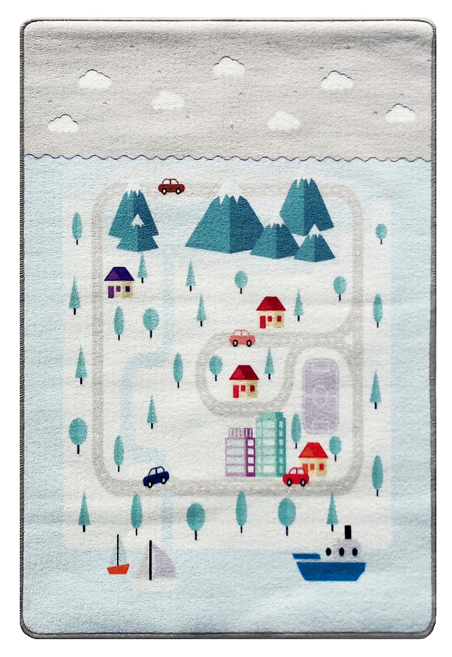 Dětský koberec milujeme hory 90x130 cm