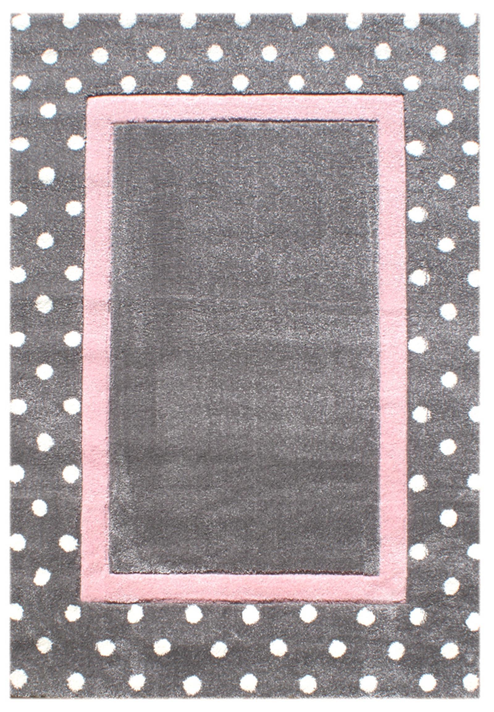 Dětský koberec puntíky 120x180cm