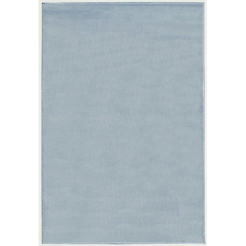 Dětský koberec  Uni - modrý 120x180cm