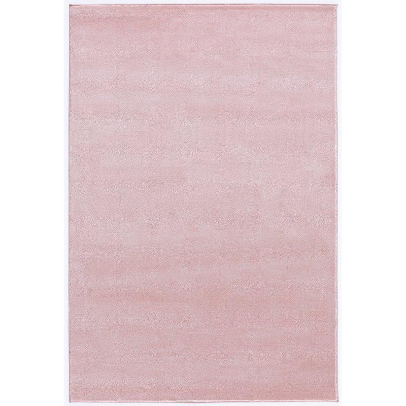 Dětský koberec  Uni - růžový  120x180cm