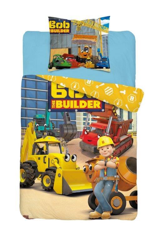 Dětské povlečení Bob Builder 140x200 cm