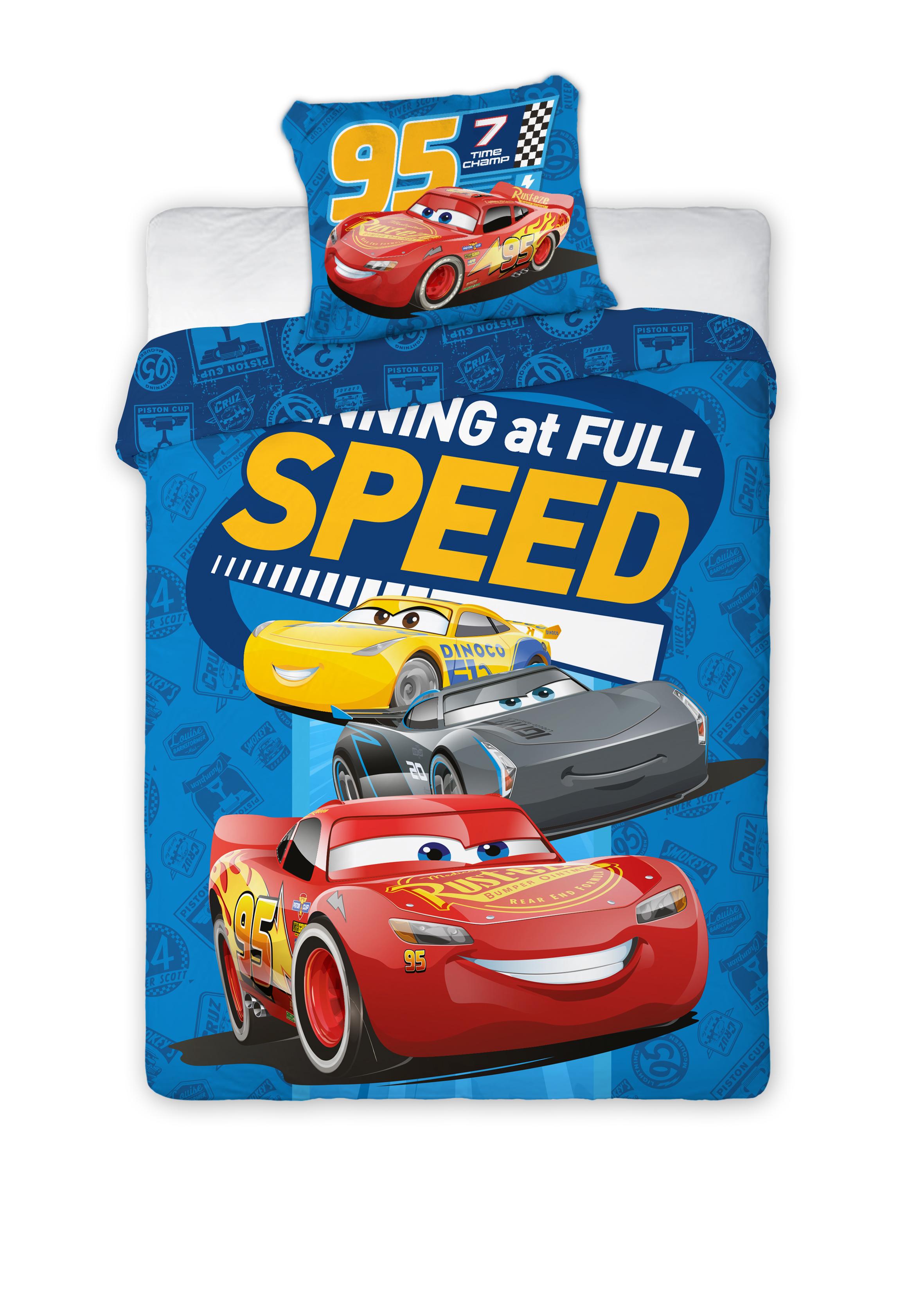 Dětské povlečení Cars 135x100 cm