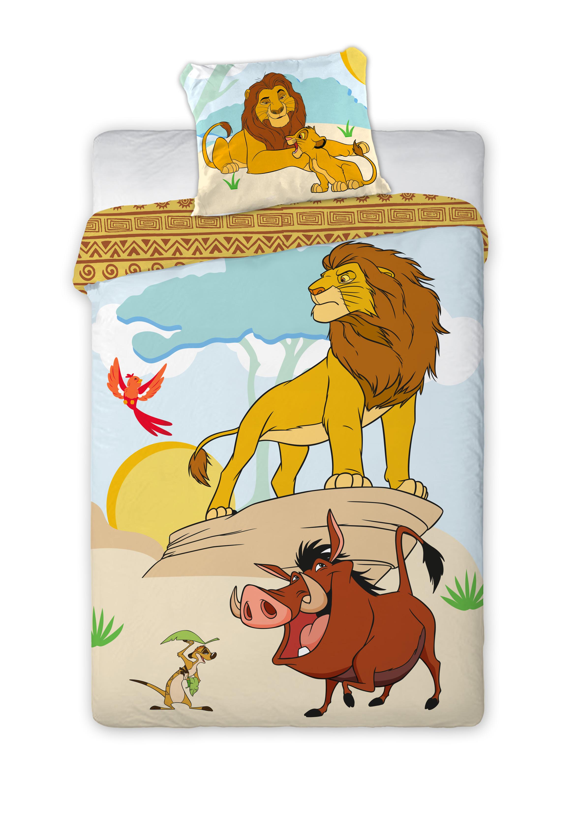 Dětské povlečení Lví Král 140x200 cm