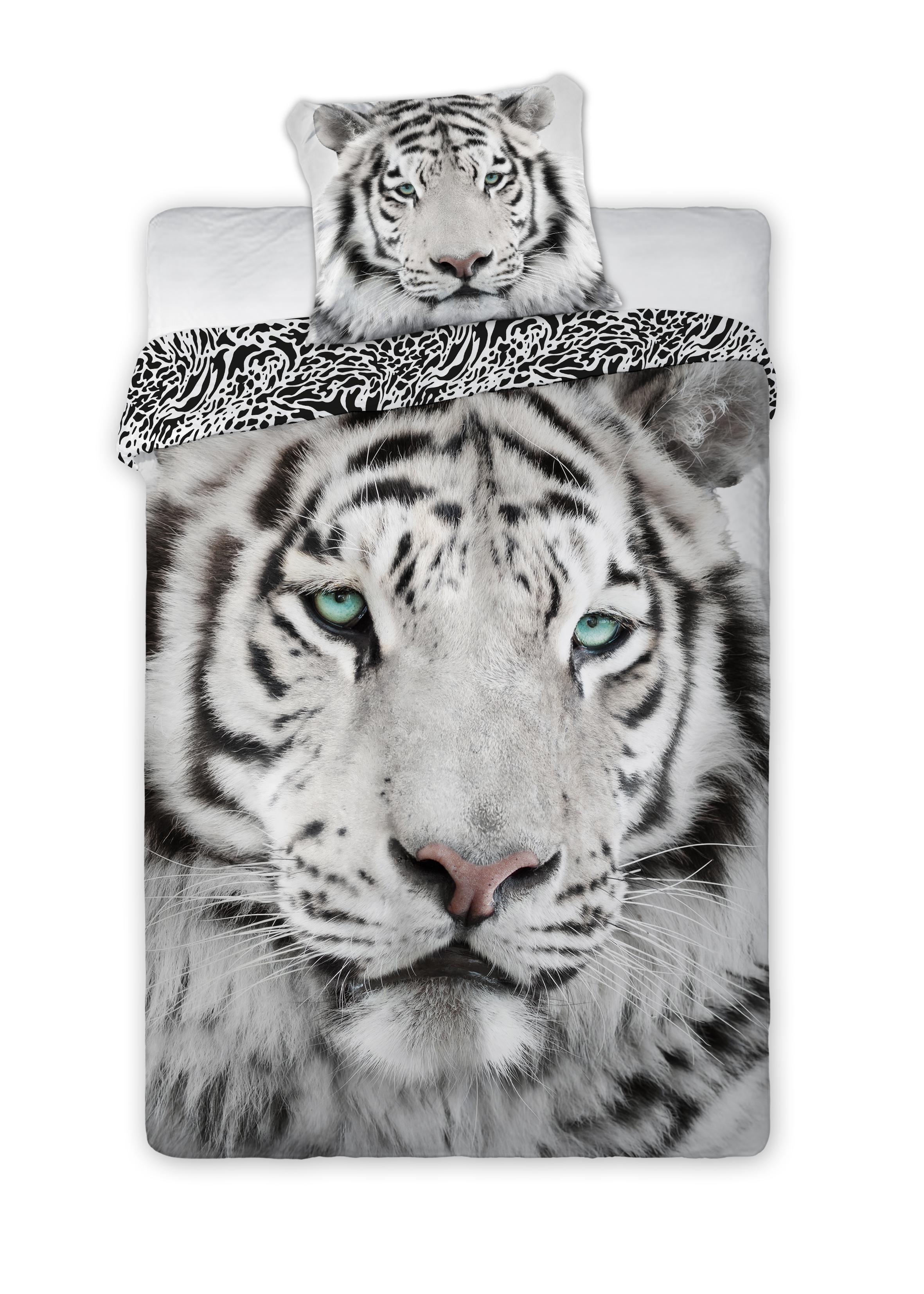 Dětské povlečení Tygr 140x200 cm