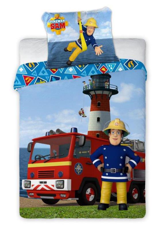 Dětské povlečení Požárník Sam 135x100 cm