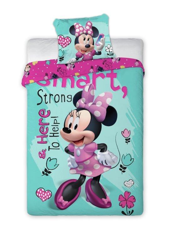 Dětské povlečení Minnie Smart 140x200 cm