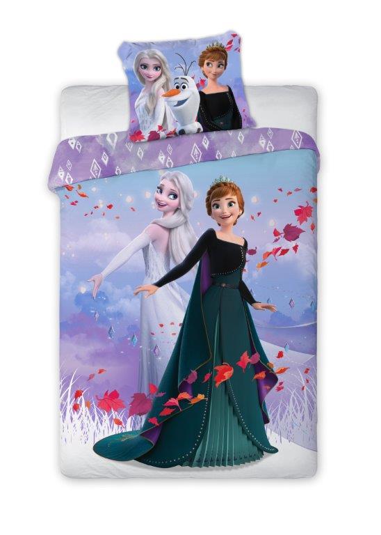 Dětské povlečení Anna a Elsa 2 140x200 cm