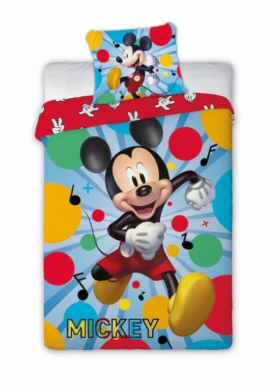 Dětské povlečení Myšák Mickey 140x200 cm