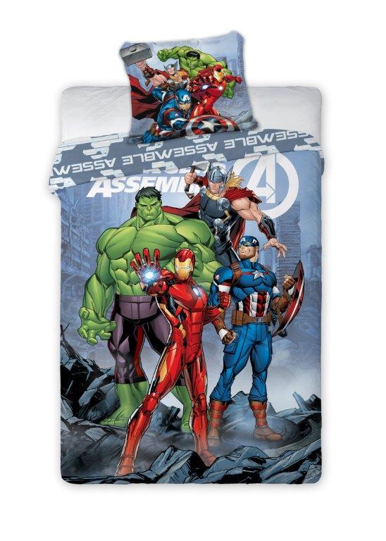 Dětské povlečení Avengers Comics 140x200 cm
