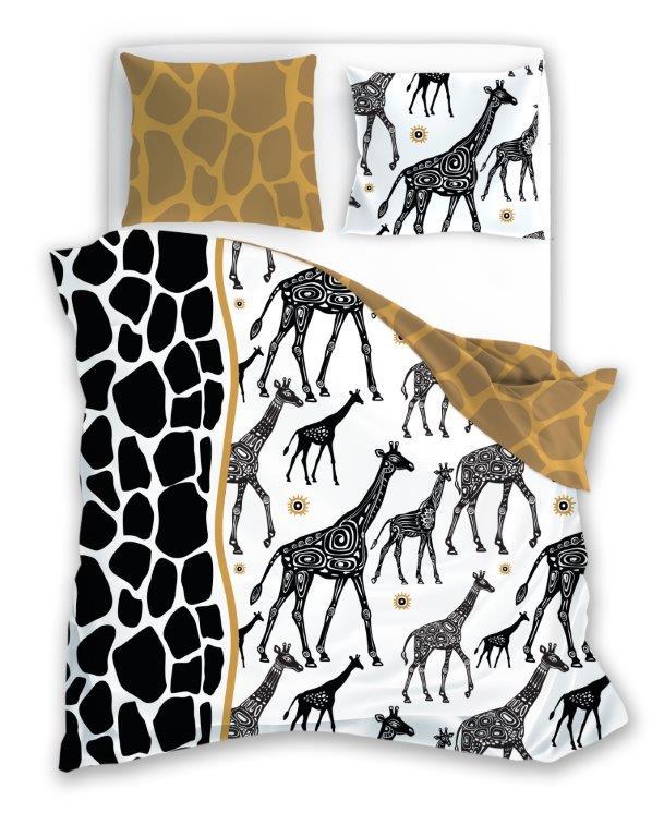 Povlečení Žirafy 140x200 cm
