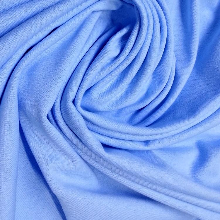 Bavlněné prostěradlo 200x90 cm - světle modré