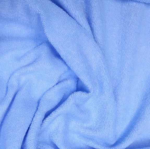 Froté prostěradlo 140x70 cm - světle modré